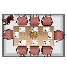dining chair clipart. dining table: furniture top view set 3 for interior, vector illustration chair clipart