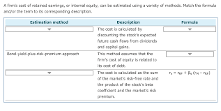 Solved Options Discounted Cash Flow Approach Capital As
