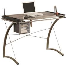 Good Coaster Desk In Chrome Finish 800986