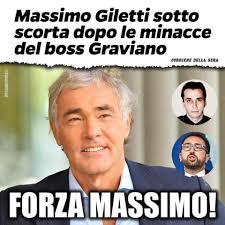 MASSIMO GILETTI SOTTO SCORTA PER LE... - Diletta Bresci Lega