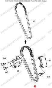 TOYOTA 4Y TIMING CHAIN (LS6080) | Lsfork Lifts