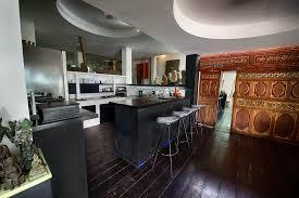 Balinese Kitchen Design Luxury Villa Bali Beachfront Canggu Pool Maison La Plage