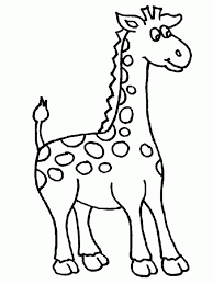 Giraffe Printable Template Giraffe Drawing Outline At Getdrawings Com Free For Personal Use