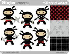 ninja party clipart.  Party Ninja Clipart And Printables  Google Search In Ninja Party Clipart