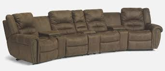 high back sectional sofas. Flexsteel Latitudes New Town Reclining Sectional Sofa Item Number 1410 57P High Back Sofas N