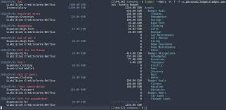 Tip How I Use Ledger To Track My Money Emacs