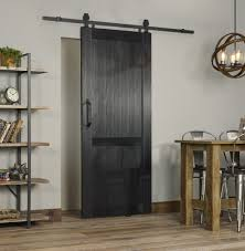 millbrooke pvc barn door black room view