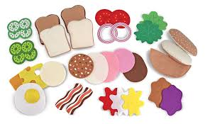 Felt Food Patterns Gorgeous Felt Food Sandwich Set