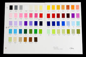 Offray Solid Grosgrain Color Chart 86 Swatches