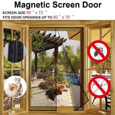 magnetic screen door for french doors sliding glass doors patio doors fits
