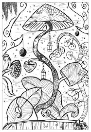 A Coloring Page With A Gigantic