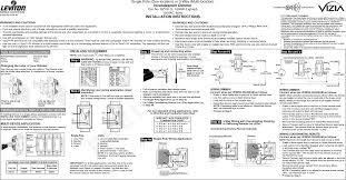 Leviton Device Color Chart Rzd10 Rf Dimmer User Manual Di 000 Aci06 00a Leviton
