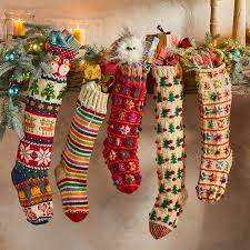 Our candy stocking comes with 2 handmade gloss; Heirloom Candy Stripes Stocking Sundance Catalog
