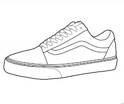 Athletic Shoes Coloring Pages For Adults Sports Vans Converse