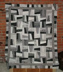 Quilts for Men | Black and White Crazy Quilt - QUILTING | quilts ... & Man quilt Adamdwight.com