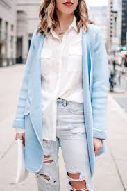 Light Blue Cardigan Outfit An Easy Winter To Spring Transitional Outfit Is A Cozy Look