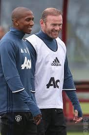 Wayne rooney of manchester united during the premier league. Manchester United Manutd Manchester United Ashley Young Wayne Rooney