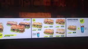 subway menu board. Unique Subway Intended Subway Menu Board