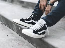 vans shoes black and white 2016. fear of god x vans - 2016 (by chooseyouravenue) shoes black and white