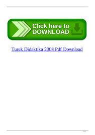 Turek Didaktika 2008 Pdf Download By Ducknatucta Issuu
