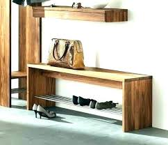 Entry Storage Bench With Coat Rack Custom Storage Benches For Entryways Entry Way Storage Bench Entry Storage