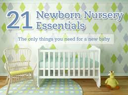 list of items needed for baby new baby nursery checklist newborn essentials bub hub