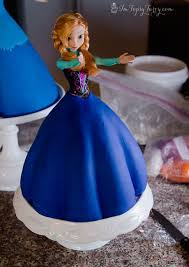 Frozen Princess Cake Anna Ashlee Marie Real Fun With Real Food