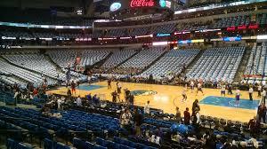 Mavs Arena Seating Chart American Airlines Center Section 117 Dallas Mavericks