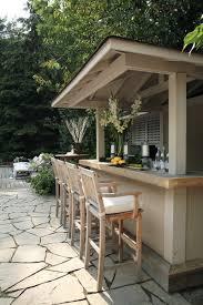Marvelous Outdoor Patio Bar In Classic Home Interior Design Patio