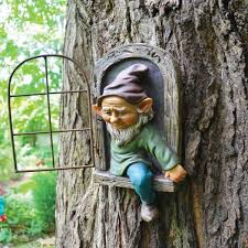tree face gnome beard 49063 the home