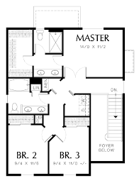 Beautiful Decoration bedroom house plans no garage for Hall    Decoration bedroom house plans no garage