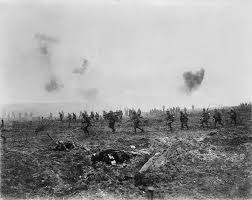 vimy ridge like a scene out dante  the battlefield still bears the scars left by the human genius for destruction