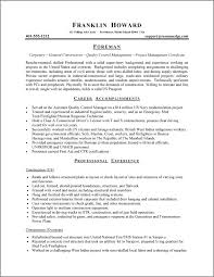 Functional Resume Examples For Students 7 Namibia Mineral Resources