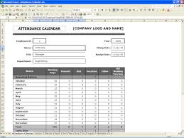 Employee Attendance Sheet In Excel For Office Employees Attendance Sheet Template Rome Fontanacountryinn Com