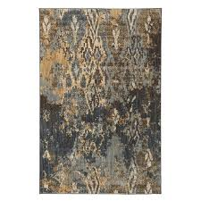 details about new home accents ashley area rug kayson multi 8x10 blue gray yellow brown