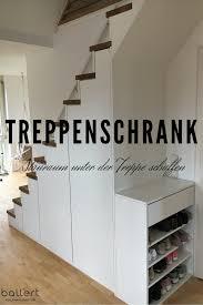 Treppenschrank stauraum im schrank unter der treppe. Treppenbau Holzmanufaktur Ballert