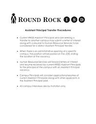 Assistant Principal Resume Sample Alluring Resumes for assistant Principals for Your assistant 33