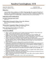 Resume For Medical Coder Medical Coding Resume Samples And Resume
