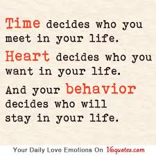 Quotes About Finding The Love Of Your Life Best Latest Love Quotes Time Decides Who You Meet In Your Life