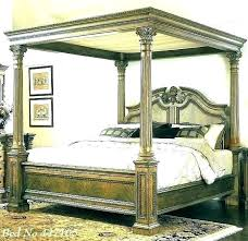 King Size Canopy Bed With Curtains Large Of Club – nimai.co