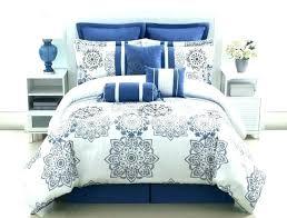 blue queen bedding sets
