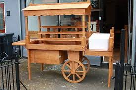Stall Display Stands Display cart market stall wooden retail display stands vintage eBay 36