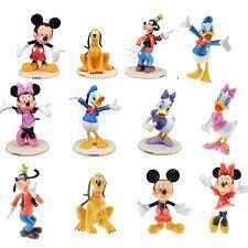 6 Cái/bộ Chuột Mickey Vịt Donald Sao Diêm Vương Goofy Nhựa PVC Đồ Chơi Mô  Hình Cho Bé Đồ Chơi Quà Tặng Giáng Sinh A27|pvc action figure|model  toyfigure model - AliExpress