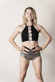 Top Audrey Black-Silver - pole dance, yoga, gym, aerial, silk polewear