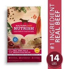 Rachael Ray Nutrish Natural Dry Dog Food Real Beef Pea