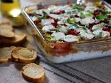 baked layered italian spread