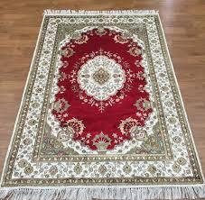 6 x4 home fl bedroom floor area rugs persian handmade oriental silk carpet classico rugs