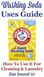 washing soda what it is how to use