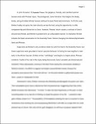 a separate peace essay topics pre ap english 10 a separate peace essay topics paper