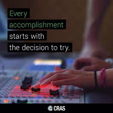 conservatory of recording arts sciences s most recent flickr what is an accomplishment you are proud of motivationalmondays qotd goals